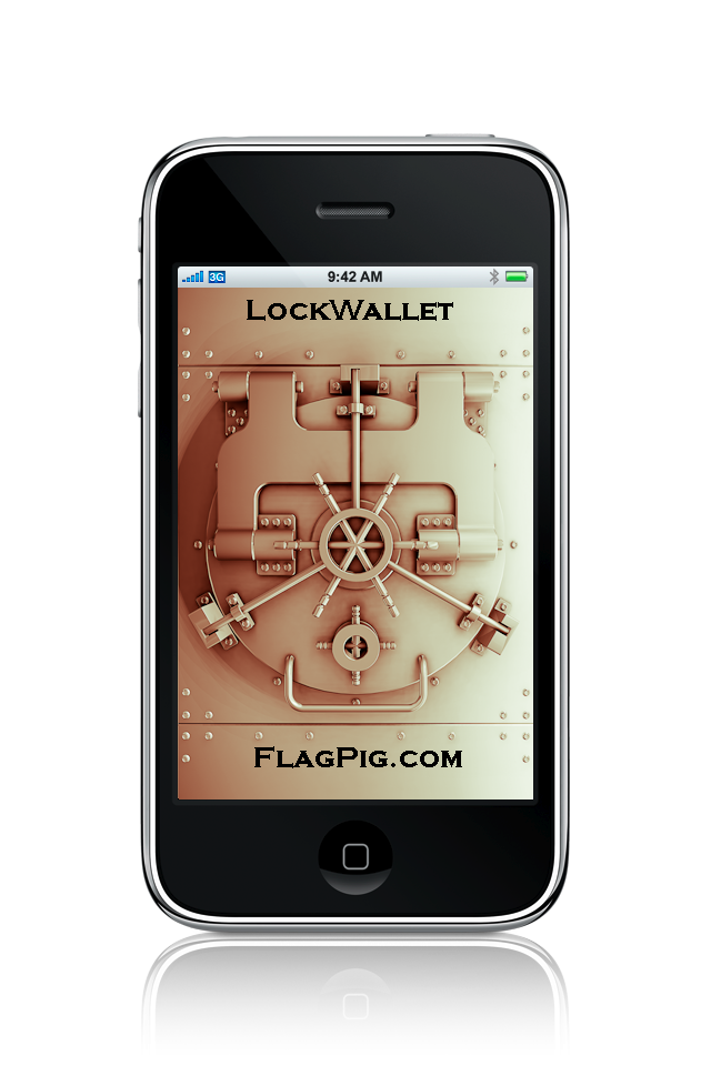 LockWallet Screenshot